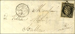 Grille / N° 3 Belles Marges Càd T 15 ST GILLES-S-VIE (79). 1849. - TB / SUP. - 1849-1850 Cérès