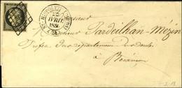 Grille / N° 3 Belles Marges Càd T 15 St HIPPOLYTE (DOUBS) (24). 1850. - SUP. - 1849-1850 Cérès