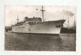 Cp , Transport ,bateau , Paquebot : LA MARSEILLAISE , Messageries Maritimes ,voyagée - Dampfer