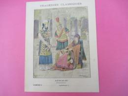 Couverture De Cahier écolier/Tragédies Classiques/ Athalie/ Schuehmacher/Arnould/Vers1900     CAH283 - Löschblätter, Heftumschläge