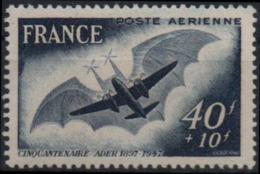 FRANCE Poste Aérienne  23 ** Avion Eole De Clément ADER 1er Vol En 1897 - Luftpost