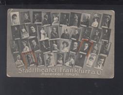 Dt. Reich AK Stadttheater Frankfurt Oder Spielzeit 1910/11 - Frankfurt A. D. Oder