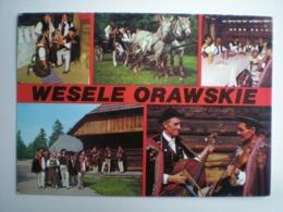 Pologne Polska Poland Folklore Typical Dress Costumes Tradition - Polonia