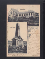 Dt. Reich AK Malstatt-Burbach 1902 - Saarbrücken