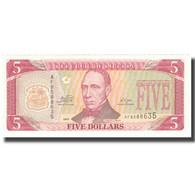 Billet, Liberia, 5 Dollars, NEUF - Liberia