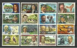 CHRISTMAS ISLAND 1977/78 FAMOUS VISITORS,FLORA,FAUNA,BIRDS SET MNH - Christmas Island