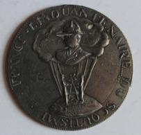 Rare Grande Médaille Scoutisme Cinquantenaire France Baden Powell Scout - Francia