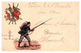 Guerre 1914-1918 - Carte Franchise Militaire - Postmark Collection (Covers)