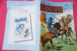 ZORRO N°68 MENSUEL (Année 1960) ****** BHR 017X - Magazines