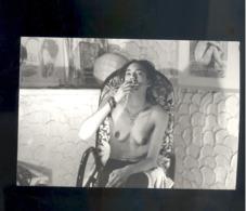 Photo Femmme Woman Nue Nude  Nu  13 X 9 Cm - Fine Nude Art (...-1920)