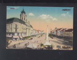 Romania PPC Arad WWI Censor - Romania