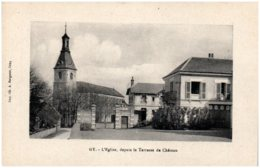 70 GY - L'église, Depuis La Terrasse Du Chateau - Frankrijk