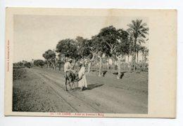 EGYPTE 012 LE CAIRE No70 Anier Sur Son Ane Avenue à MARG   -  1900  Dos Non Divisé Bergeret - Cairo