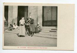 EGYPTE 014 LE CAIRE No 68 Gare Des Voyageurs Un Marchand Ambulant  -  1900  Dos Non Divisé Bergeret - El Cairo