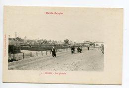 HAUTE EGYPTE 080 KENEH No 01  Animation Route Vers Village   1900  Dos Non Divisé Bergeret - Otros