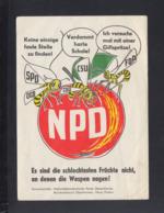 BRD Bayern Oberfranken NPD Frühe Karte Bugig - Parteien & Wahlen