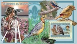 Guinea  2006 Scouts , Birds, Owls - Guinea (1958-...)