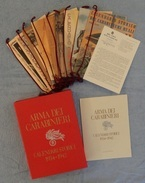 CARABINIERI - CALENDARI STORICI DAL 1934 AL 1942 - ID-2676.CC.L - Altri