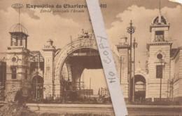 Exposition De Charleroi 1911 - Entrée Principale L'Arcade - Expositions