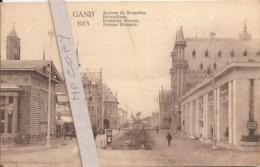 Exposition De Gand 1913 - Avenue De Bruxelles - Expositions