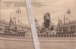 Exposition De Gand 1913 - Le Cheval Bayard Et Palais Des Beaux-Arts - Expositions