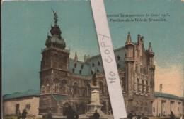 Exposition De Gand 1913 - Le Pavillon De La Ville De Bruxelles - Exhibitions
