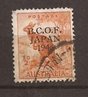 Occupation Australienne Au Japon N° 1 Oblitéré Coté 5,00€ - Japan (BCOF)