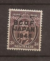 Occupation Australienne Au Japon N° 3 Neuf Sans Charnière Côté 6,00€ - Japan (BCOF)