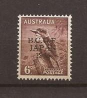 Occupation Australienne Au Japon N° 4 Neuf Sans Charnière 20,00€ - Japan (BCOF)