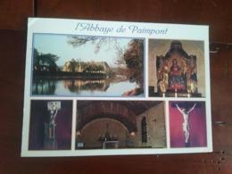35 - Paimpont - L'abbaye - Multivues - Paimpont