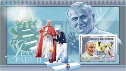 Guinea  2006 Humanists ,Pope John Paul II ,  Mother Teresa  Butterfly - Guinea (1958-...)