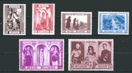 BE   513 - 518    XX   ---   Troisième Orval Reconstruction Abbaye  --  COB : 88 Euros - Neufs