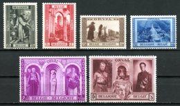 BE   513 - 518    XX   ---   Troisième Orval Reconstruction Abbaye  --  COB : 88 Euros - Belgium