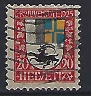 Switzerland 1925  Pro Juventute (o) Mi.216 - Used Stamps