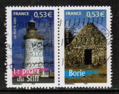 FRANCE  Scott # 3139 L+j VF USED SE-TENNANT PAIR (Stamp Scan # 532) - France