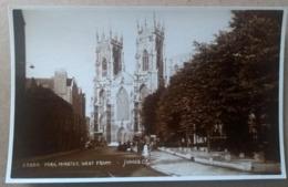 YORK, Minster West Front, 1955 - York