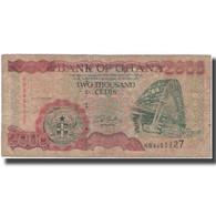 Billet, Ghana, 2000 Cedis, 2001-10-22, KM:33f, B - Ghana
