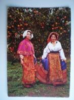 Italie > Sicilia Folklore Typical Dresses Costume Costumi Tradition - Italia