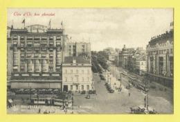* Brussel - Bruxelles - Brussels * (Nels, Série 1, Nr 178) Cote D'or, Place Rogier, Boulevard Botanique, Tram, Vicinal, - Bruxelles-ville
