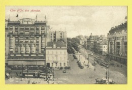 * Brussel - Bruxelles - Brussels * (Nels, Série 1, Nr 178) Cote D'or, Place Rogier, Boulevard Botanique, Tram, Vicinal, - Brussel (Stad)