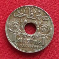 Syria 1 Piastre 1936 KM# 71  Siria Syrie - Syria