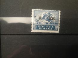 FRANCOBOLLI STAMPS POLONIA POLAND 1920 MNH NUOVI POLISH OVERPRINTED S. O. 1920 SLESIA ORIENTALE SILESIA POLSKA - Schlesien (Ober- Und Nieder-)