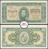 Uruguay   50 Centesioms   1939   P.34   UNC - Uruguay
