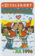 Denmark Phonecard - Superb Fine Used Phonecard 1996 Christmas - Denemarken