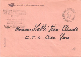 Calvados :- CAEN DION OPERATIONNELLE TELECOM. - Marcophilie (Lettres)