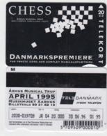 Denmark Phonecard - Superb Fine Used Phonecard 1995 Chess - Denemarken