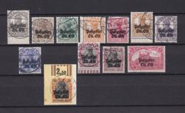 Postgebiet Oberbefehlshaber Ost - 1916/18 - Michel Nr. 1/12 - 55 Euro - Besetzungen 1914-18