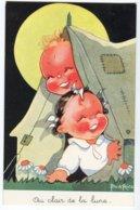 CPA  Bébés  Clair De Lune (  BEATRICE MALLET ) - Mallet, B.