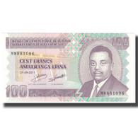 Billet, Burundi, 100 Francs, 2011-09-01, KM:44b, NEUF - Burundi