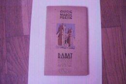 GUIDE MAROC PRESSE - RABAT -  AVEC PLANS ET NOM DES RUES 1941 DEUX SCANS - Rabat